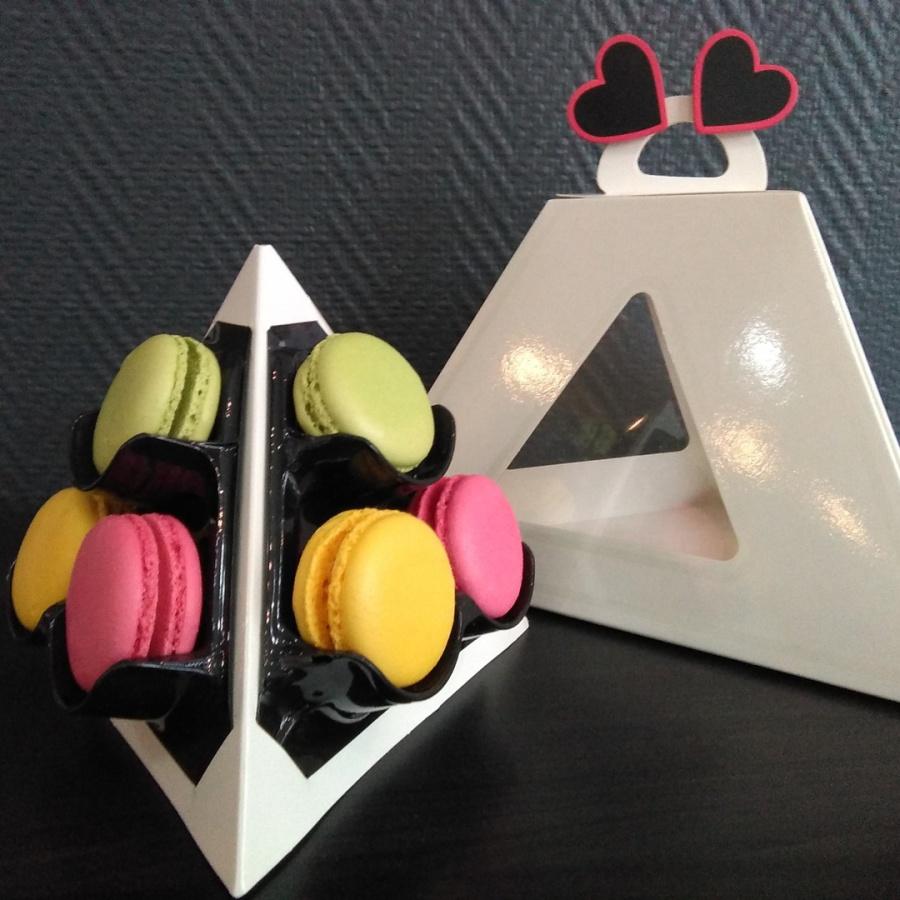 Pyramide 9 macarons